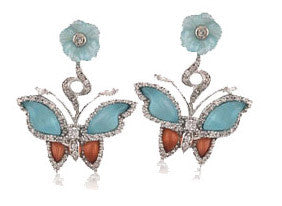 Papillon Earring - Angelique de Paris - 1