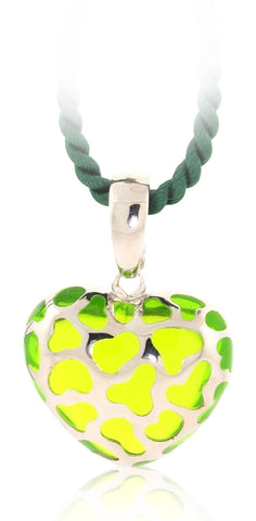 Safari Heart Necklace - Angelique de Paris - 1