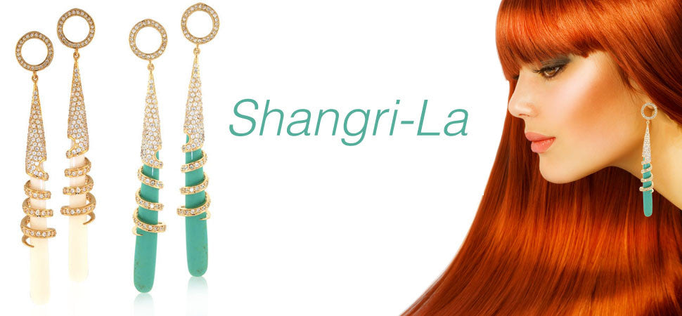Shangri La Earrings