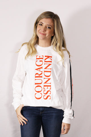 Courage + Kindness Long Sleeve T-Shirt