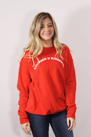 Courage + Kindness Sweatshirt