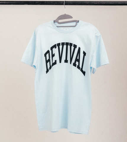 Revival Collegiate Shirt (Chambray Blue)