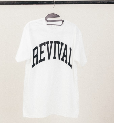 Revival Collegiate Shirt (White)