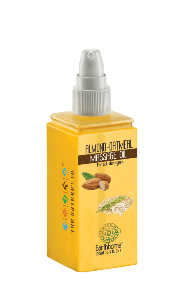 ALMOND - OATMEAL MASSAGE OIL (100 ml) - EOSS
