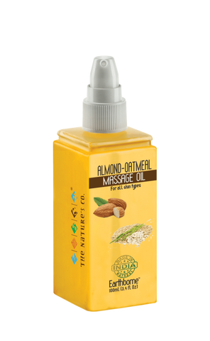 ALMOND - OATMEAL MASSAGE OIL (100 ml)
