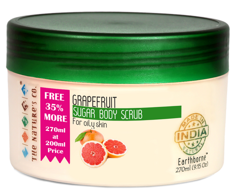 GRAPEFRUIT SUGAR BODY SCRUB (270 ml)