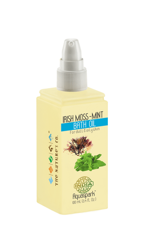IRISH MOSS -MINT BATH OIL (100 ml)