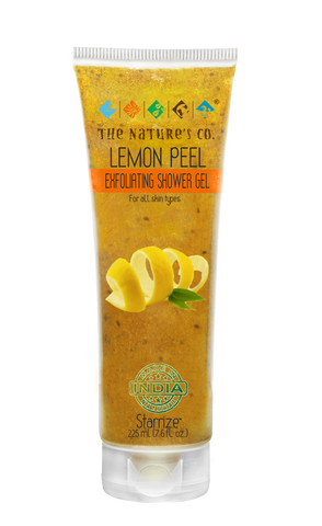LEMON PEEL EXFOLIATING SHOWER GEL (225 ml)