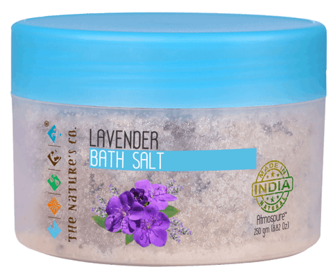 LAVENDER BATH SALT (250 gm) Mfg:  04/2018 & Exp: 03/2020