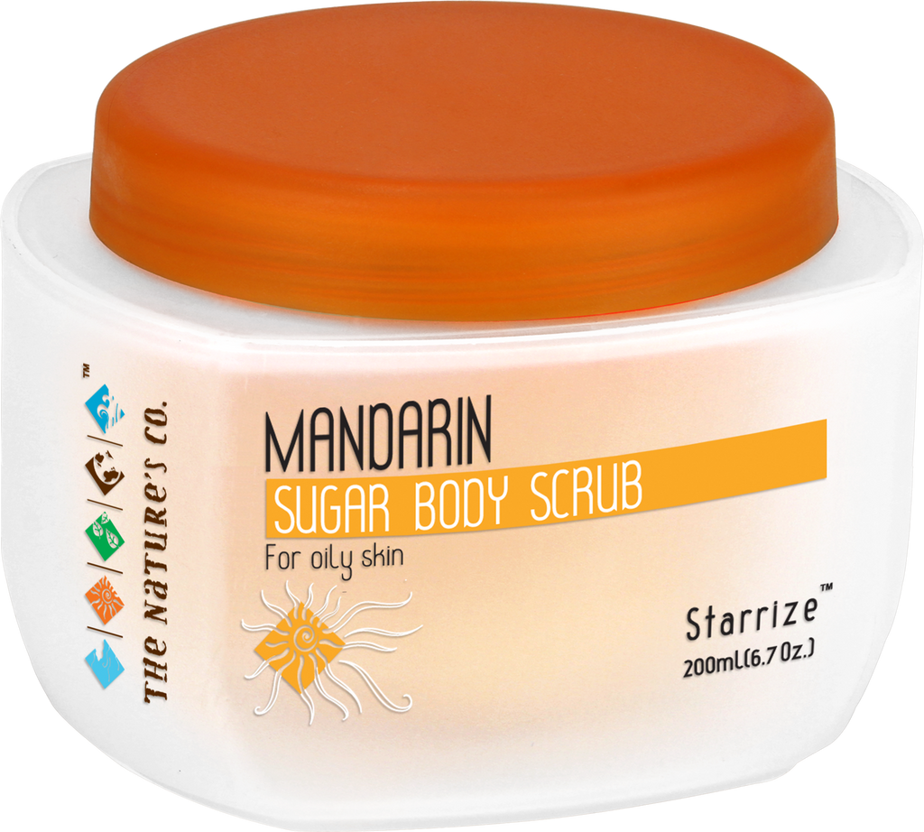 MANDARIN SUGAR BODY SCRUB (200 ml) - EOSS