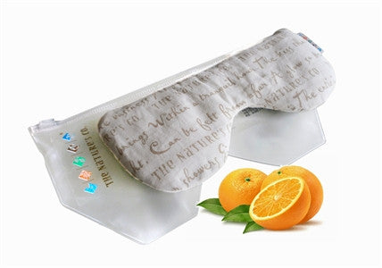 ORANGE EYE PILLOW (125gm) - Mfg: 05/2018 & Expy: 10/2019)