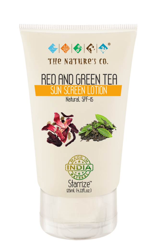 RED AND GREEN TEA SUN SCREEN LOTION (125 ml)
