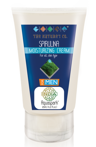 SPIRULINA MOISTURISING CREAM FOR MEN ( 125ml)