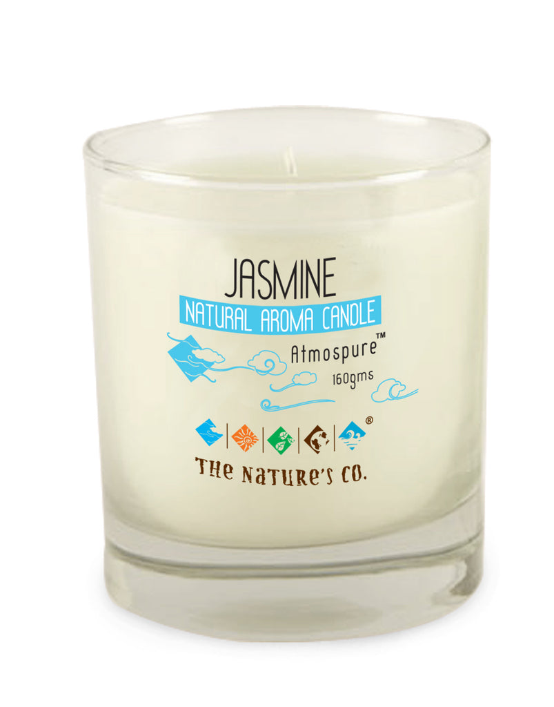 JASMINE NATURAL AROMA CANDLE