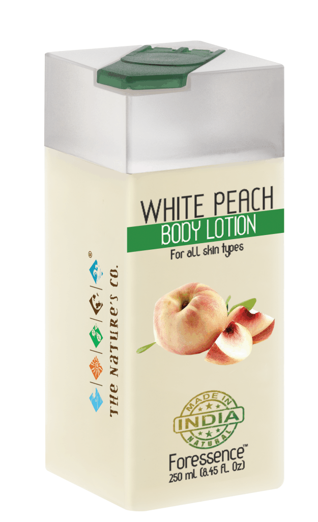 WHITE PEACH BODY LOTION (250 ml)- Mfg: 10/2017 & Expy: 09/2019