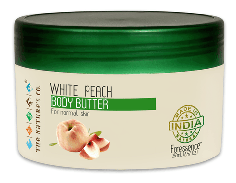 WHITE PEACH BODY BUTTER (250 ml) Mfg: 10/2017 & Exp: 09/2019