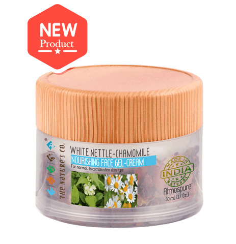 WHITE NETTLE-CHAMOMILE NOURISHING FACE GEL-CREAM (50 ML)