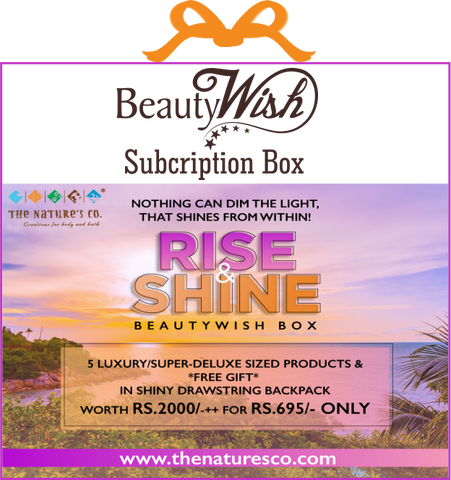 "Monthly Subscription from Jan - Feb 2020 ""Rise & Shine"" MINI ME #BeautyWishBox"