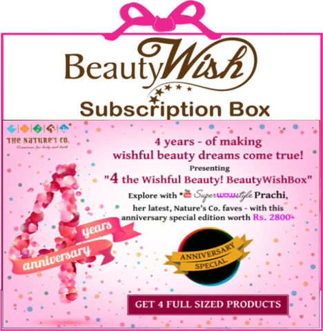 "Monthly Subscription from August ""4 the Wishful Beauty! BeautyWishBox"""
