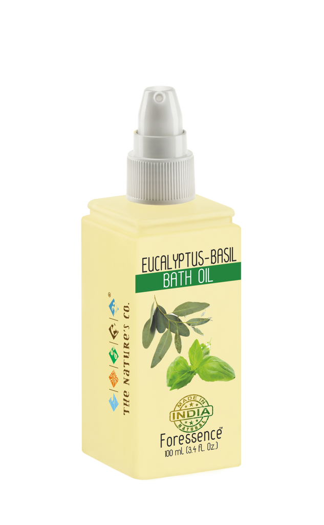 EUCALYPTUS - BASIL BATH OIL (100 ml)