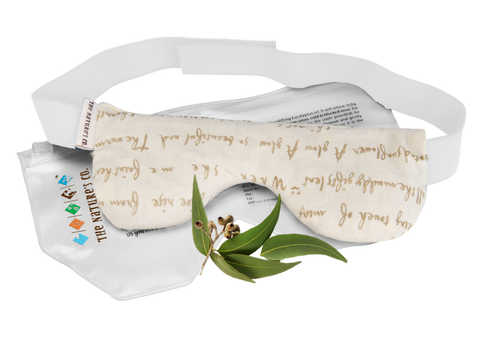 EUCALYPTUS EYE PILLOW WITH BAND (125 gm)