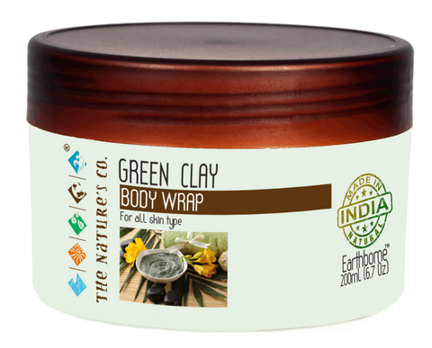 GREEN CLAY BODY WRAP (200ml) (Mfg: 06/2017 & Exp: 05/2019)