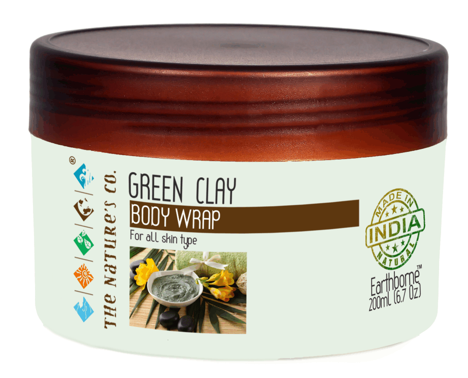 GREEN CLAY BODY WRAP (200ml) (Mfg: 06/2017 & Expy: 05/2019)