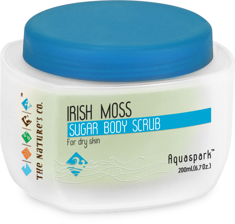 IRISH MOSS SUGAR BODY SCRUB (200 ml)