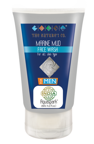 MARINE MUD FACE WASH FOR MEN (125 ml)  Mfg:  02/2018 & Exp: 01/2020