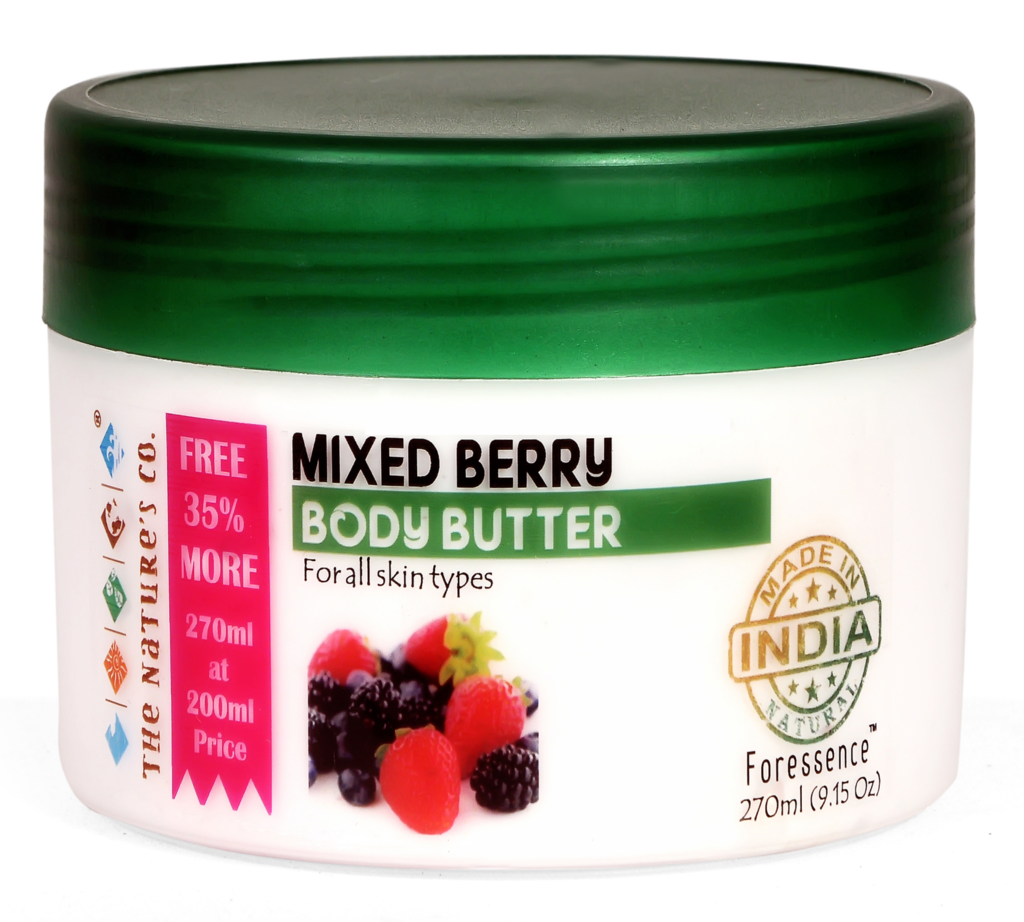 MIXED BERRY BODY BUTTER (270 ml)- Mfg: 02/2018 & Exp: 01/2020