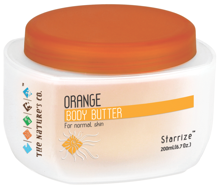 ORANGE BODY BUTTER (200 ml) Mfg:  01/2018 & Exp: 12/2019