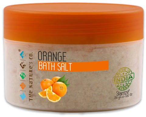 ORANGE BATH SALT (250 gm)