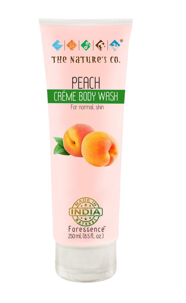 PEACH CREME BODY WASH (175 ml)-EOSS