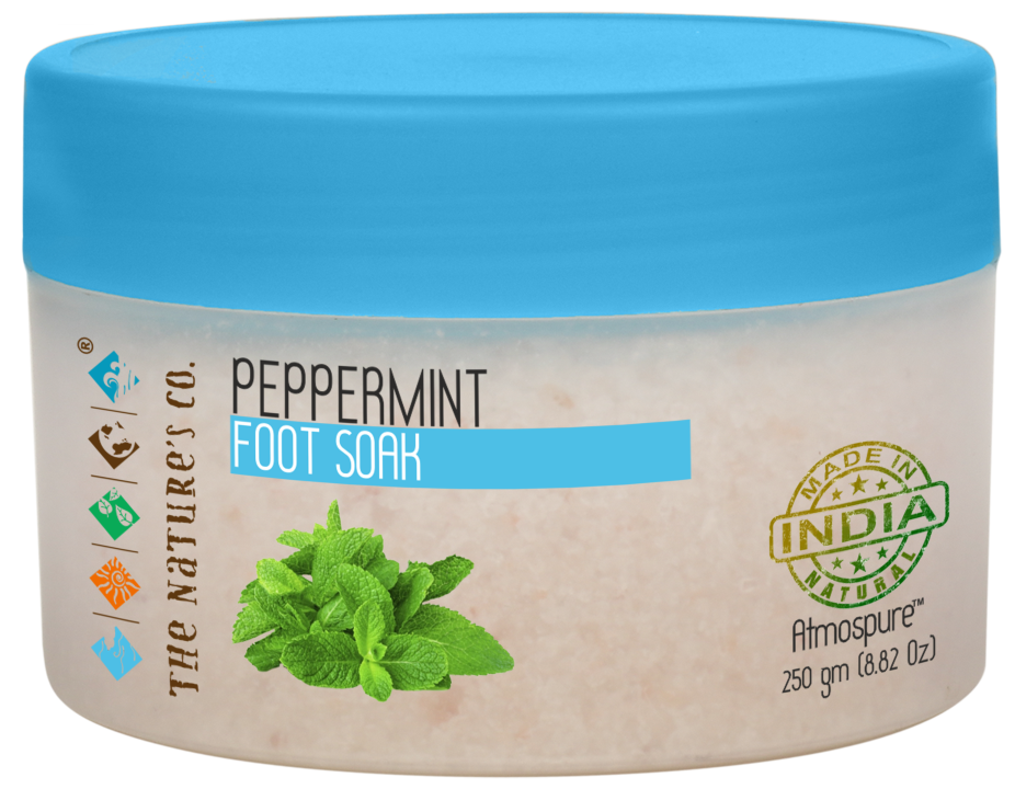 PEPPERMINT FOOT SOAK (250 gm)
