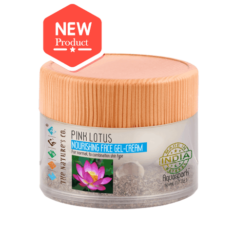 PINK LOTUS  NOURISHING FACE GEL-CREAM (50 ML)