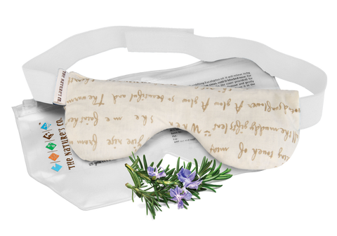 ROSEMARY EYE PILLOW WITH BAND (125 gm)