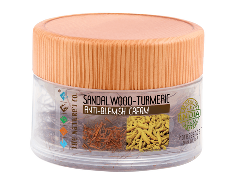 SANDALWOOD-TURMERIC ANTI BLEMISH CREAM (50 ML)