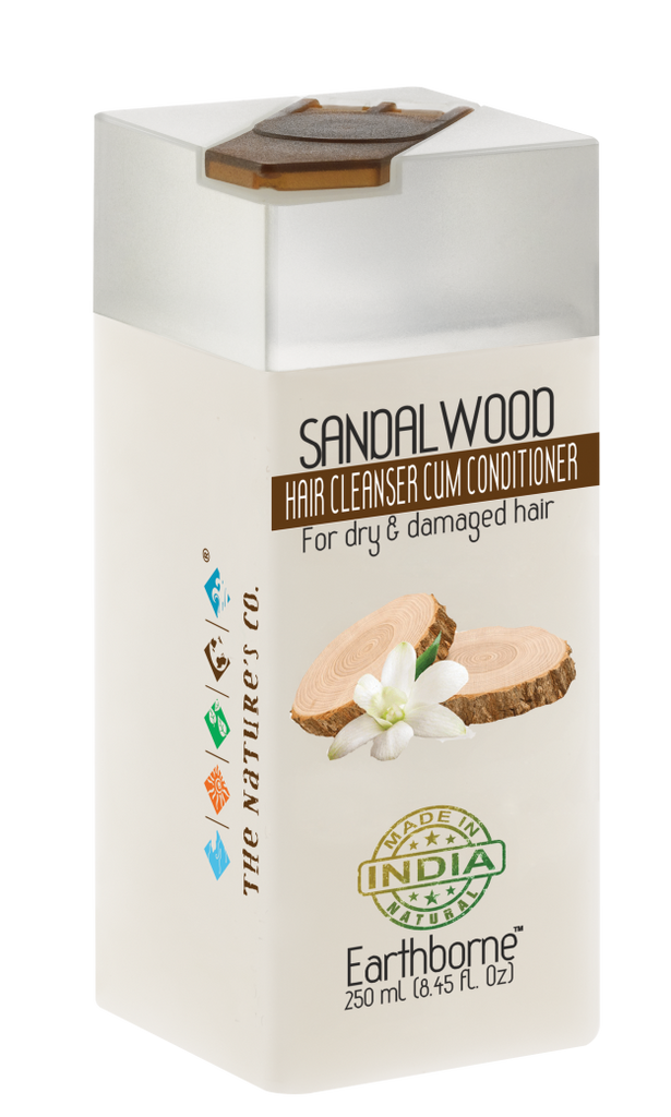 SANDALWOOD HAIR CLEANSER CUM CONDITIONER (250ml)