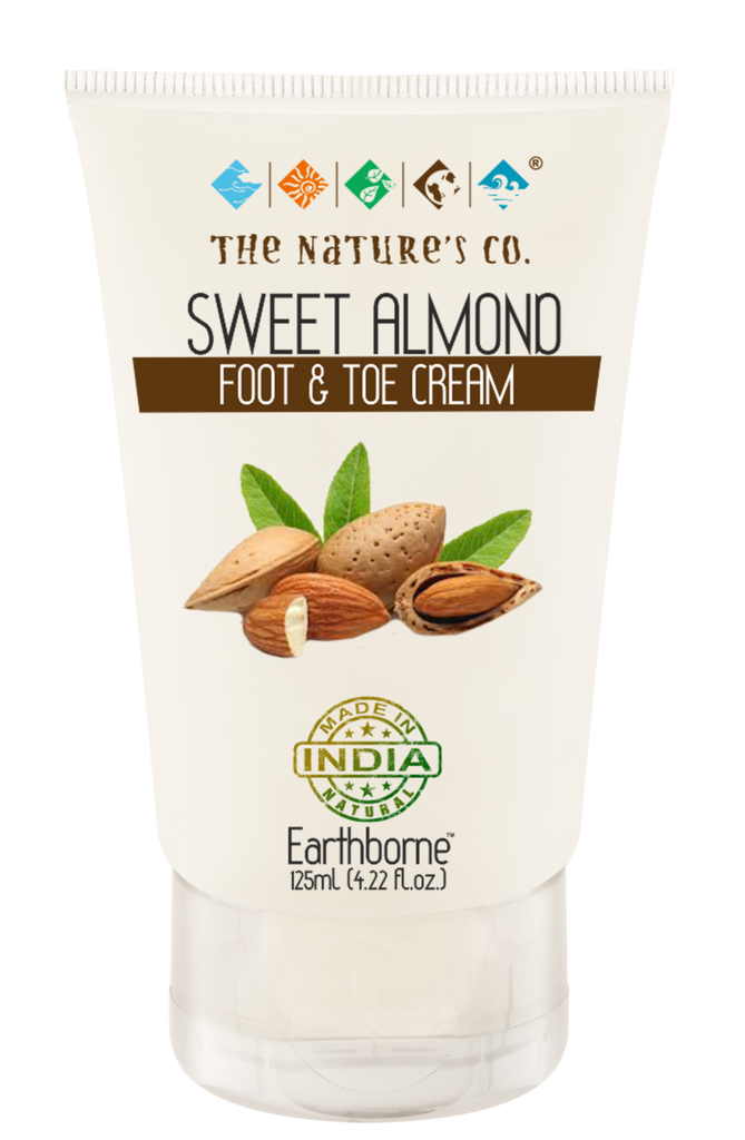 SWEET ALMOND FOOT & TOE CREAM (125 ml)