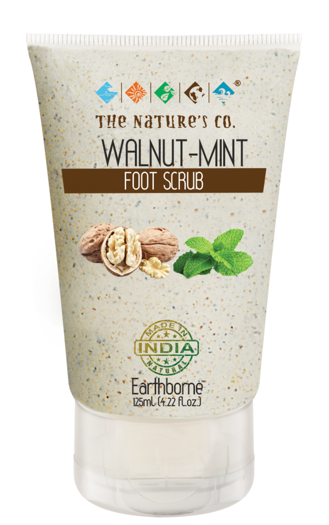 WALNUT - MINT FOOT SCRUB (125 ml)