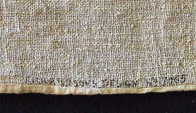 Old Antique Arts & Crafts Richardson Silk Co. Pillow Cover Embroidery Linen