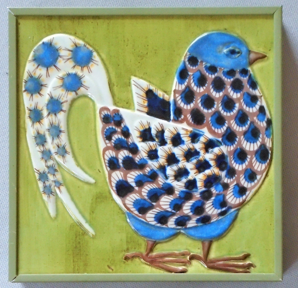 Royal Copenhagen Bird Tile Berte Jessen Bungalow Bill