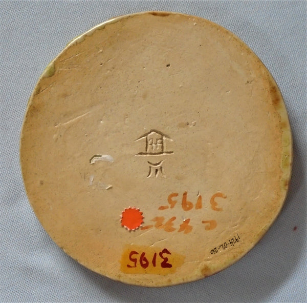 Poverty Hollow Pottery antique Tile Bungalow Bill