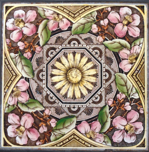 Craven Dunnill Tile Aesthetic Trivet Bungalow Bill Antique