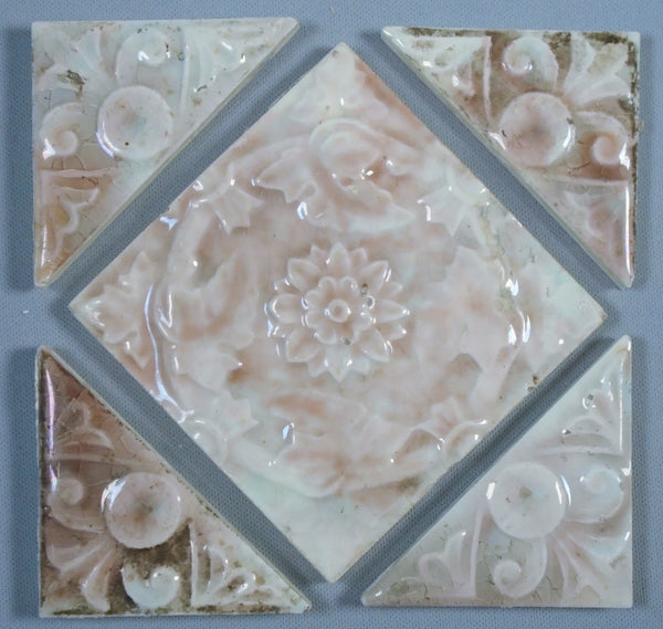 Old Bridge Antique Tile Panel Bungalow Bill