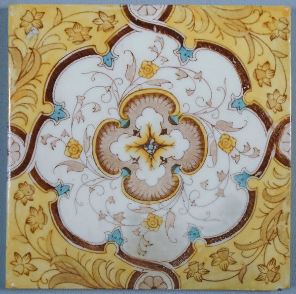 Sherwin Cotton Tile Chinoiserie Bungalow Bill Antique