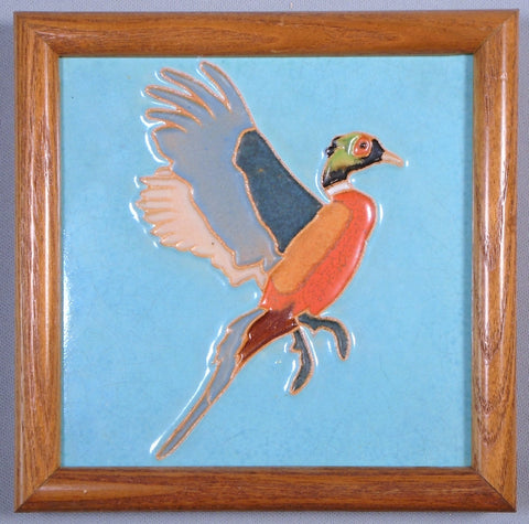 Mosaic Tile Company Gamebird Series Pheasant by Richard Bishop