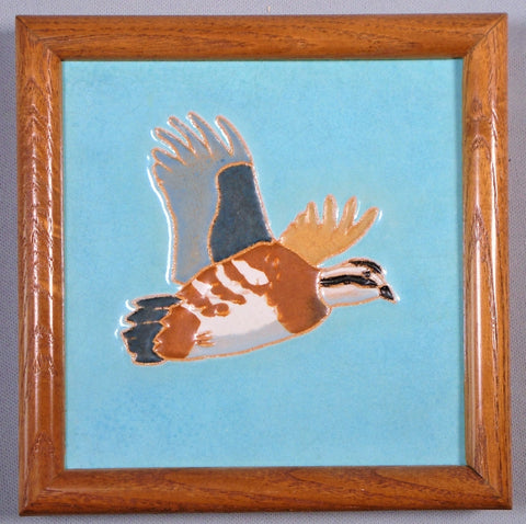 Mosaic Tile Co Gamebird Bobwhite Richard Bishop Bungalow Bill Antique