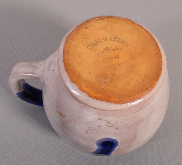 North State Carolina Pottery  Mug Southern Highlanders Bungalow Bill Antique
