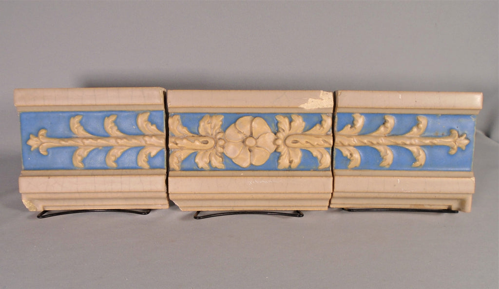 Rookwood Pottery Faience Tile Panel Neo-Classical Design Architectural Antique Bungalow Bill